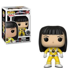 Power Rangers Yellow Ranger No Helmet Pop! Vinyl Figure