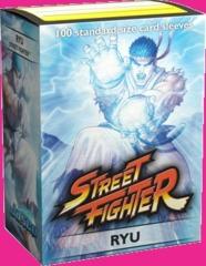 Dragon Shield Street Fighter Ryu Deck Protectors 100ct Standard Size