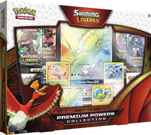 Pokemon TCG Shining Legends Premium Power Collection Box Set