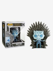 Game of Thrones Night King Sitting on Throne Deluxe Pop! Vinyl Figure