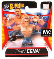 WWE Rumblers John Cena Mini-Figure