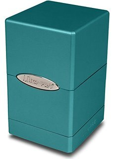 Ultra Pro Metallic Blue Satin Deck Box