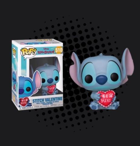 Disney Lilo and Stitch Stitch Valentine Exclusive Pop! Vinyl Figure