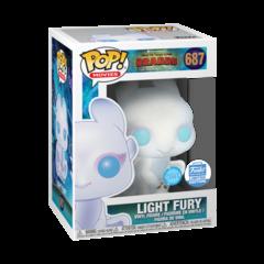 How to Train Your Dragon 3 Light Fury Glitter Exclusive Pop! Vinyl Figure