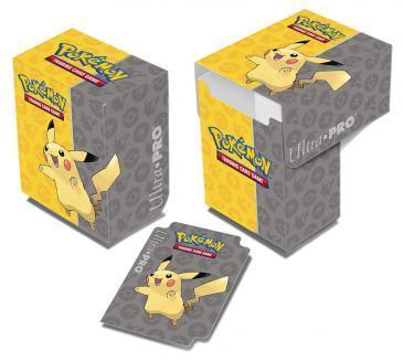Pokemon Pikachu Full-View Deck Box