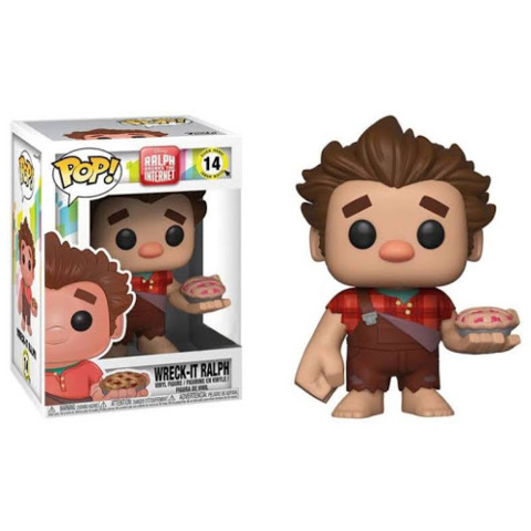 Wreck-It Ralph w/ Pie Hot Topic Exclueive Pop Vinyl Figure