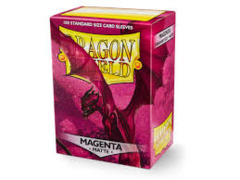 Dragon Shield Sleeves Matte Magenta Standard Size 100CT