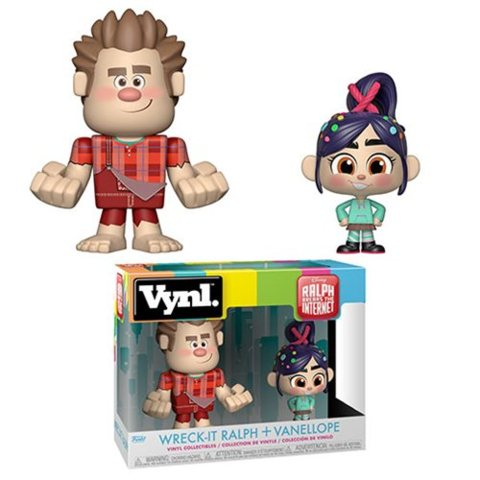 Wreck-It Ralph 2 Ralph and Vanellope VYNL Figure 2-Pack