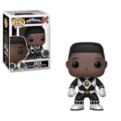 Power Rangers Black Ranger No Helmet Pop! Vinyl Figure