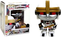 Power Rangers - White Tigerzord Hot Topic Exclusive Pop Vinyl Figure
