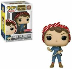 American History Rosie the Riveter Target Exclusive Pop Vinyl Figure