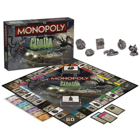Cthulhu Collectors Edition Monopoly Game