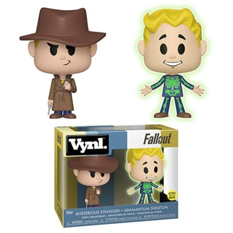 Fallout Adamantium and Stranger VYNL Figure 2-Pack