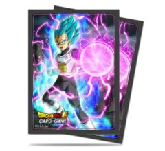 Dragon Ball Super God Charge Vegeta Ultra Pro Deck Protectors 65ct