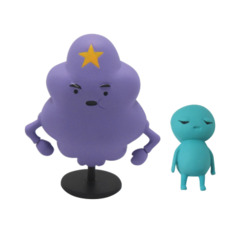Adventure Time Lumpy Space Princess & Brad