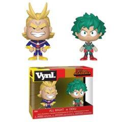 My Hero Academia All Might and Deku VYNL 2 Pack