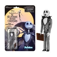 The Nightmare Before Christmas Jack Skellington Surprised Reaction Figure