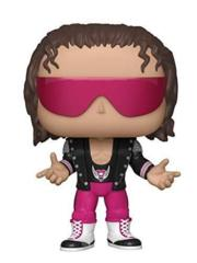 WWE Bret Hart w/ Leather Jacket Pop Vinyl Fgure