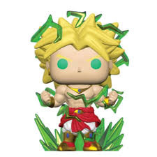 Dragon Ball Z Legendary Super Saiyan Broly Exclusive Pop! Vinyl Figure