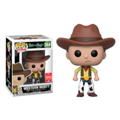Rick and Morty Western Morty Summer Convention Exclusive Pop! Vinyl Figure
