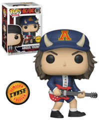 AC/DC Angus Young Chase Pop! Vinyl Figure #91