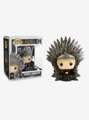 Game of Thrones Cersei Sitting on Throne Deluxe Pop! Vinyl Figure