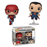 Justice League The Flash and Superman Fall Convention Exclusive Pop Vinyl Figure