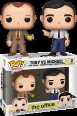The Office Toby vs Michael 2 pack Pop! Vinyl Figure