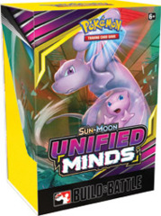 Pokemon Unified Minds Build and Battle Deck