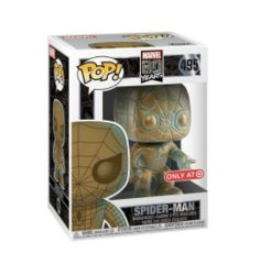 Marvel 80 Years Patina Spider-Man Target Exclusive Pop Vinyl Figure