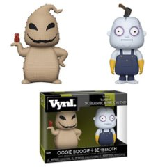 Nightmare Before Christmas Oogie Boogie and Behemoth VYNL Figure 2-Pack