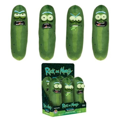 Rick and Morty Pickle Rick 7-Inch Plush