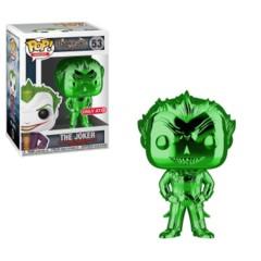 Batman Arkham Asylum The Joker Green Chrome Target Exclusive Pop Vinyl Figure