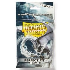 Dragon Shield Clear Perfect Fit Sleeves 100ct