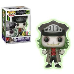 Beetlejuice with Hat Glow in the Dark Exclusive Pop! Vinyl Figure