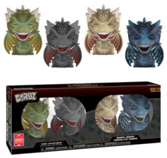 Game of Thrones Dragon 4 Pack Summer Convention Exclusive Dorbz Figure