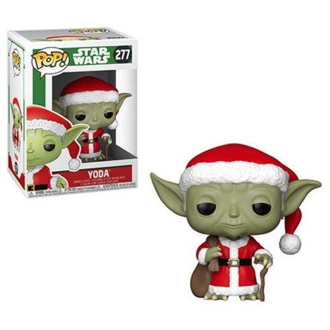 Star Wars Holiday Santa Yoda Pop! Vinyl Figure