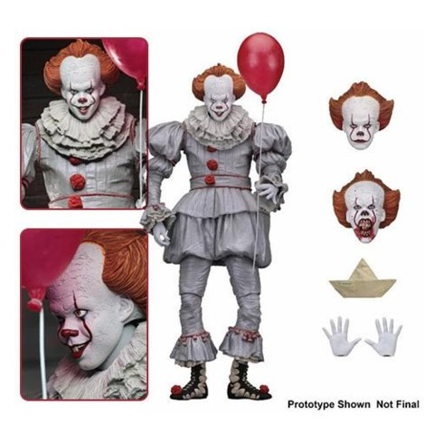 NECA IT Ultimate Pennywise 2017 7-Inch Action Figure