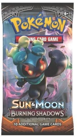 Sun & Moon Burning Shadows Booster Pack