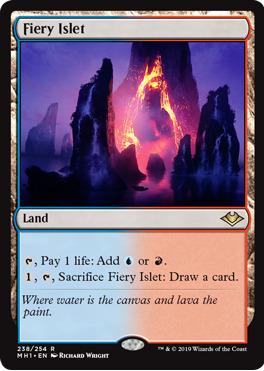Fiery Islet - Modern Horizons