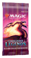 Commander Legends Collector Booster Pack PRERELEASE 11-13-20