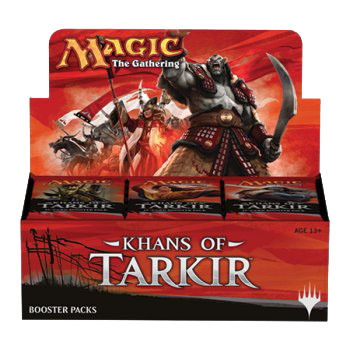 Khans of Tarkir (KTK) Booster Box DIRECT WEBSITE PRICE
