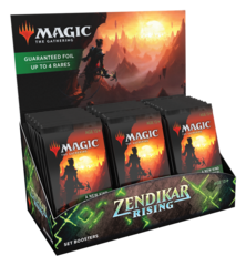 Zendikar Rising Set Booster Pack Display (30 Packs) RELEASE DAY 9-25-20
