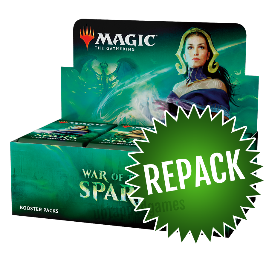 War of the Spark Booster Box Repack