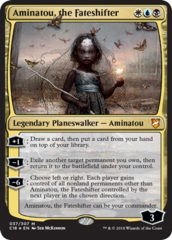 Aminatou, the Fateshifter - Commander 2018