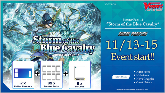 Storm of the Blue Cavalry At-Home Sneak Preview (BUY 4 GET 1 PLAYMAT)