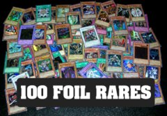 100 Yu-Gi-Oh Foil Rares: Repack
