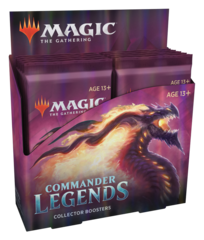Commander Legends Collector Booster Pack Display (12 Packs) PRERELEASE 11-13-20