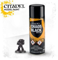 Citadel Paint Chaos Black Spray (800Ml)