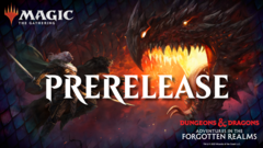 Adventures in the Forgotten Realms Prerelease (Includes 1 Set Booster + Prize Support)